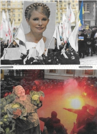 The city dwellers protest | Yulia Tymoshenko, former prime minister, imprisoned for abuse of power | This smiling woman holds onto her cabbage crops, but does she really?