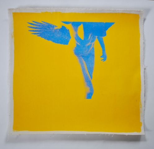 silk screen on canvas | 2013